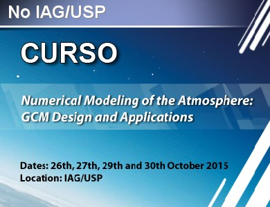 <div class=tt>NUMERICAL MODELING OF THE ATMOSPHERE: GCM DESIGN AND APPLICATIONS<br></div>