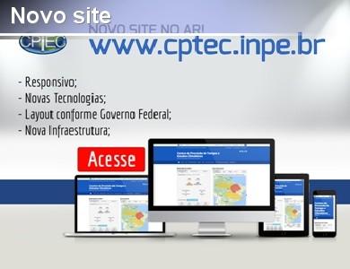 CPTEC inaugura novo site