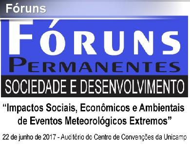 Fóruns Permanentes - Sociedade e Desenvolvimento
