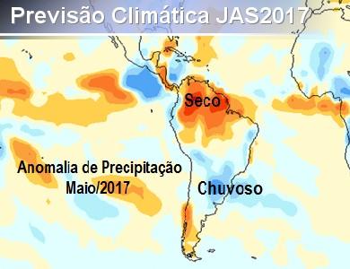Divulgação da Previsão Climática para o Trimestre JAS/2...