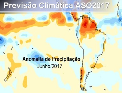 Divulgação da Previsão Climática para o Trimestre ASO/2...